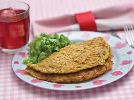 Omelete de Legumes com Aveia | fernanda botelho