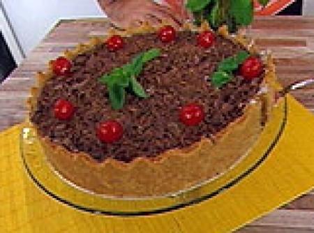 Torta de Iogurte com Chocolate | DEBORAH ELIAS EMETERIO