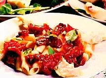 Penne com Alcachofra e Tomate Seco