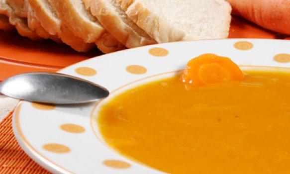 Sopa de Cenoura com Mel