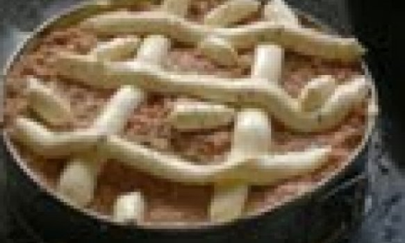 torta de cebola ou de calabreza