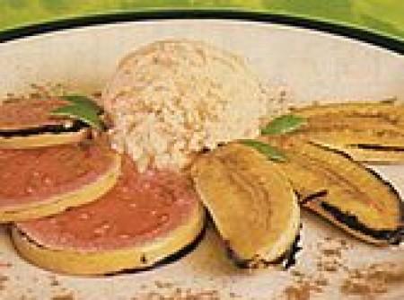 Banana flambada à brasileira