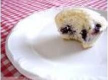 Muffin Especial de Frutas com farinha de trigo integral