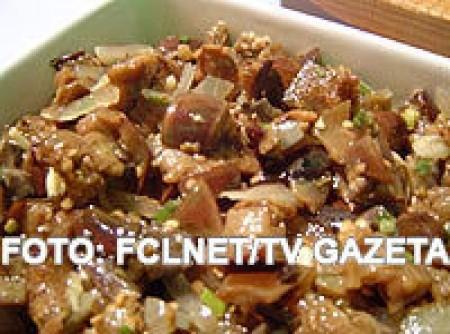 Saladas de Berinjela e Abobrinha       07-0807
