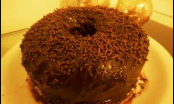 Bolo de Café com Chocolate e Leite Condensado