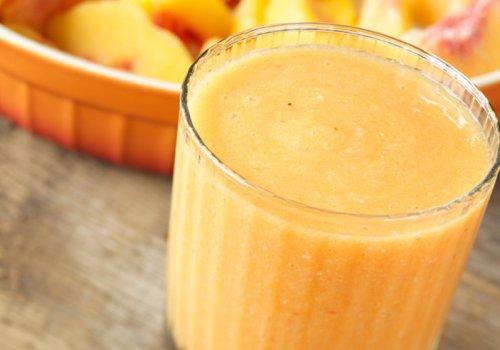 Vitamina de maçã e cenoura