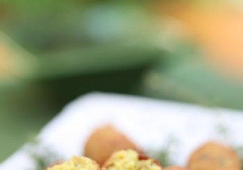 Croquete de couve flor