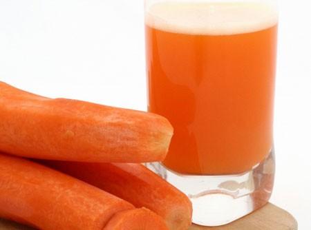 Suco de Laranja com Cenoura