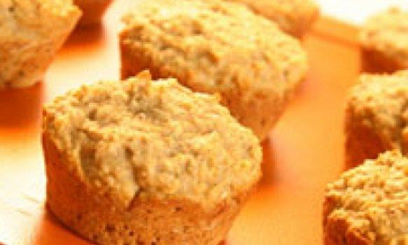 Muffin de Banana e Aveia