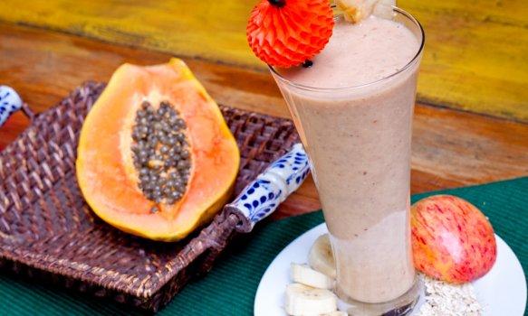 Vitamina Mista com Leite de Soja