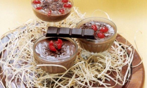 Mousse de Chocolate Delícia