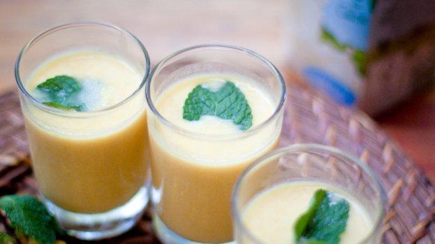 Vitamina de Milho Verde com Leite de Soja