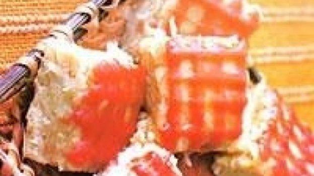 Bolo de Batata Doce com Goiabada