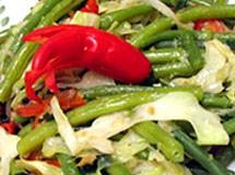 Vegetais Salteados