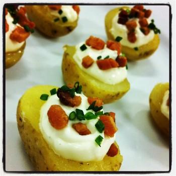 Mini Batatas Recheadas