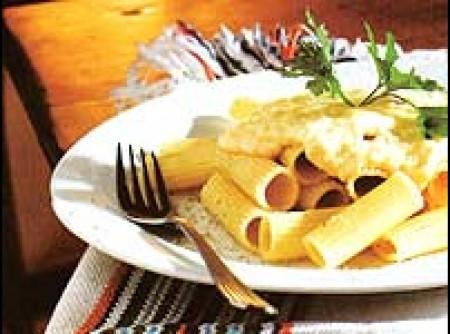 Rigatoni aos quatro queijos | Jailson de Paiva Mota