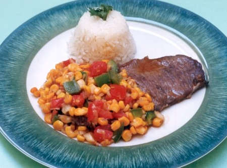 Bife com Legumes | CyberCook