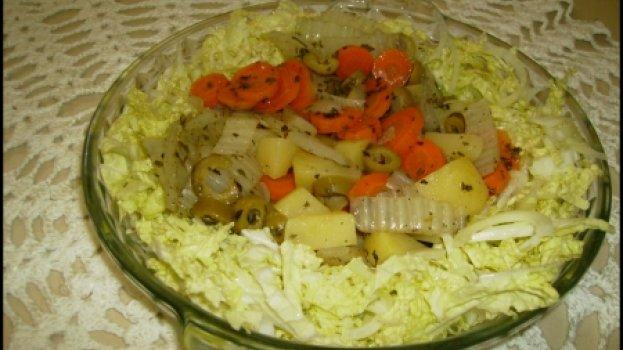 Acelga com Batata e Cenoura