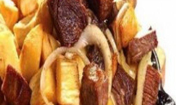 Receita da carne de sol com mandioca