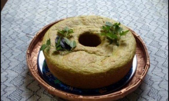 Pão de ervas frescas