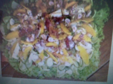 Salada Tropical da Lilica