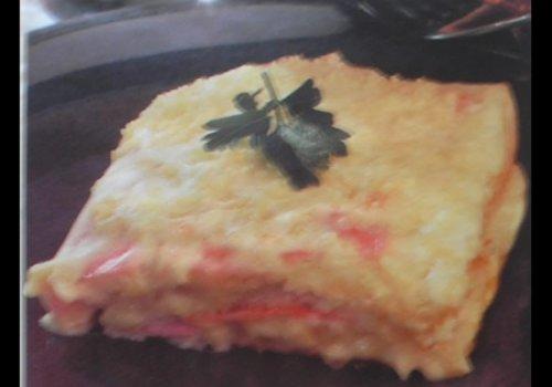 Torta de Pão de Fôrma no Forno