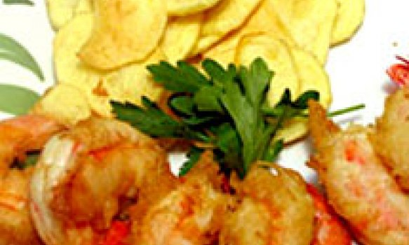 Shrimp and Chips