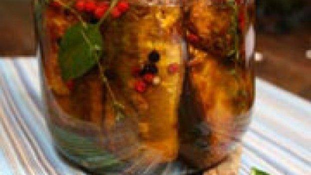 Sardinha fresca marinada com ervas