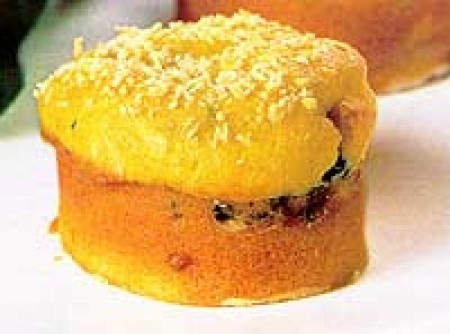 Minitorta de Cenoura com Espinafre
