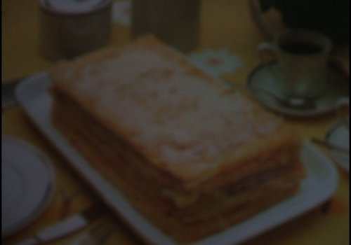 Torta de massa folhada frita