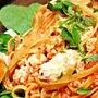 Espaguete com Ricota