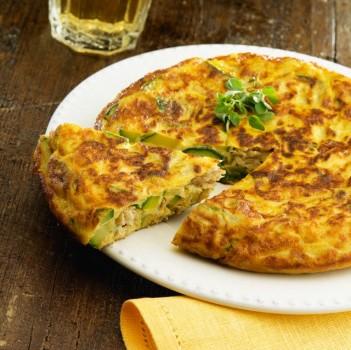 Omelete de Abobrinha e Atum | CyberCook