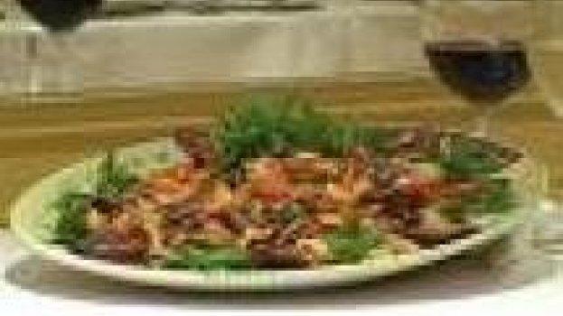 Spaghetti con salsa di zucchine