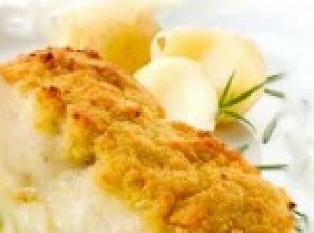 Bacalhau com broa de centeio
