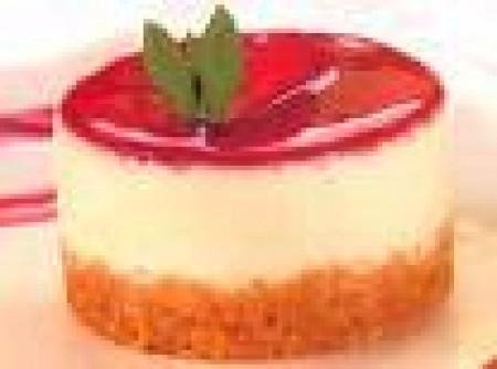 Cheesecake Light de Morango   katherine sayuri ogusuku