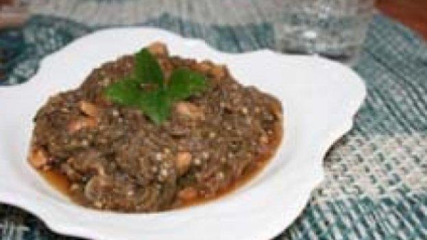 Salada Thai de Berinjela
