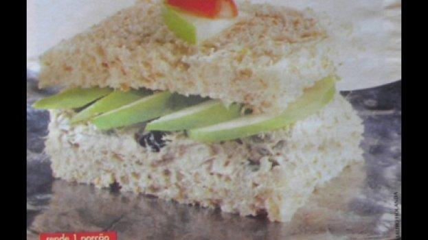 Sanduíche de Maça