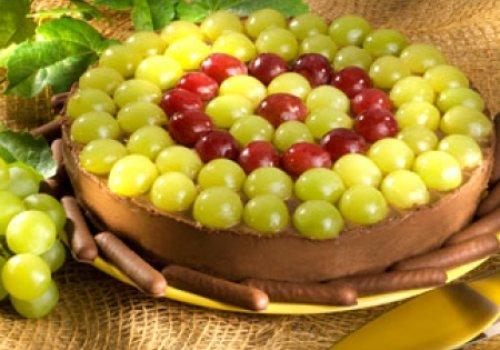 Torta Guirlanda de Uvas