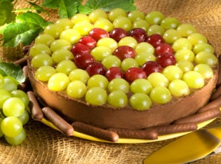 Torta Guirlanda de Uvas | CyberCook