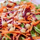 Salada Colorida ao Molho de Iogurte