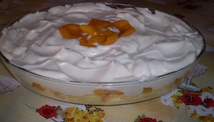 Torta de Pêssego Especial