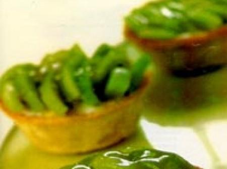 Tartelettas de kiwi