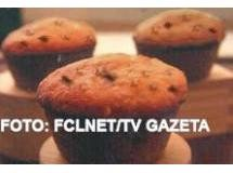 Muffin de Chocolate e Nozes