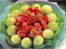 Salada de Melão com Presunto | Luiz Lapetina