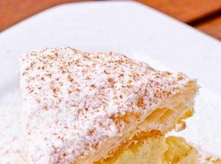 Torta Folhada de Banana e Gengibre