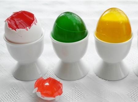 Gelatina em Ovos