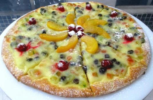 Pizza de Panetone   Senhor Pizza