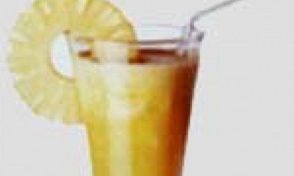 Bebida refrescante de Abacaxi