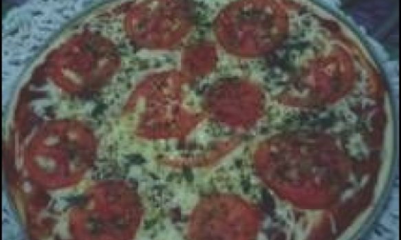 massa de pizza e basica