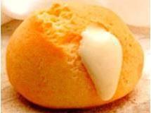 Pão de queijo com falso requeijão